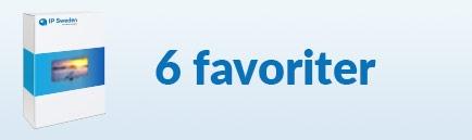 6 favoriter